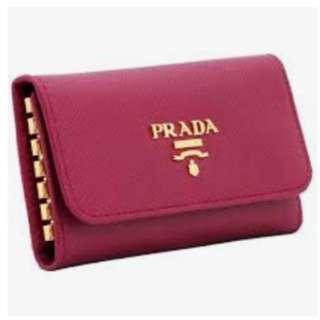 Prada key pouch