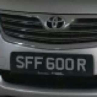 Nice Number Plate for Sale