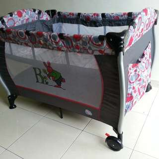 3in1 Baby Cot cum Playpen