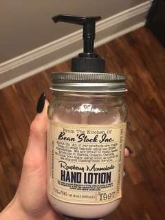 Jar pump lotion