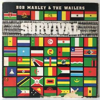 Bob Marley & The Wailers ‎– Survival (1979 UK Original - Vinyl is Excellent)
