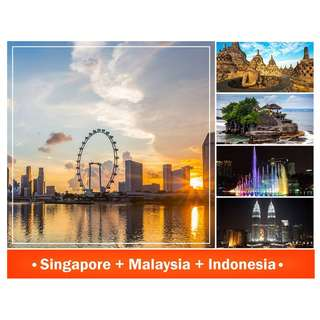4D3N SINGAPORE TRI CITY ALL IN PACKAGE