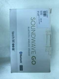 Soundwave Go -Bluetooth wireless speaker