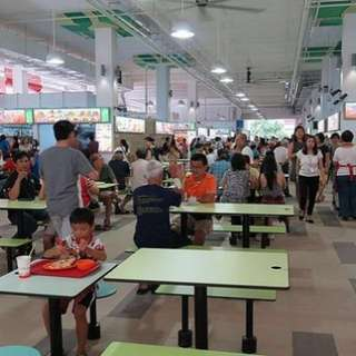 HAWKER CENTRE stall for takeover