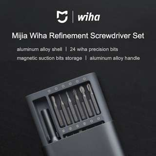[Xiaomi Wiha] 24 in 1 Precision Screwdriver Kit Super Useful Red Dot Award