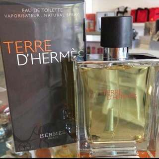 Parfume Terre de Hermes 100mL (segel)