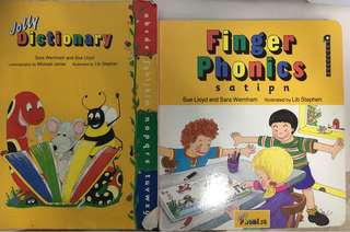 Jolly Phonics Finger Book 1-7