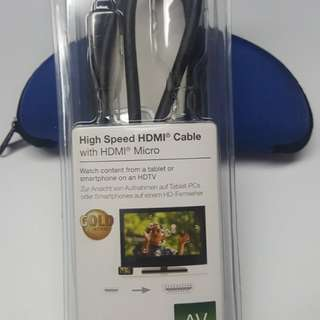 High speed HDMI cable高速連接線