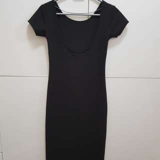 My preloved bodycon black dress ❤