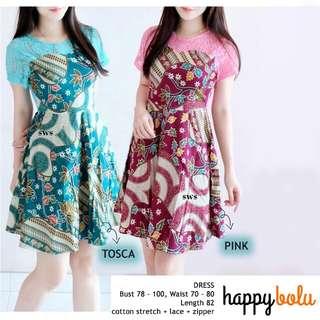 Batik Summer Dress type Candy