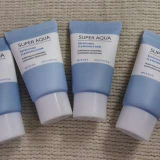 MISSHA Super Aqua Cleansing Foam 10ml MINI