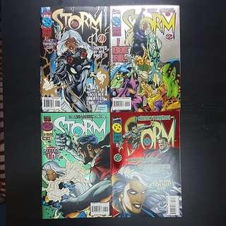 1995 4 Marvel Comics STORM #1 to 4 (set)