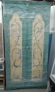 French Country Style Painted Wardrobe