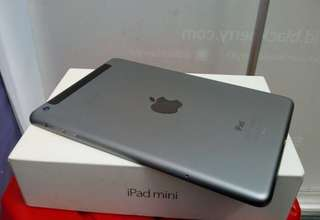 ipad mini 2 32gb wifi + cell fullset ori ex IBOX