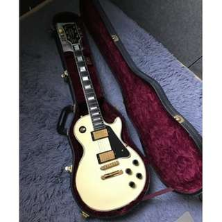 2008 Gibson Les Paul Custom Alpine White