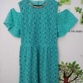 Dress brukat big size XXL