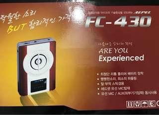 Portable Amplifier w microphone from Korea