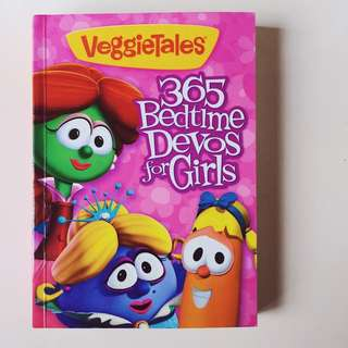 365 Bedtime Devos for Girls