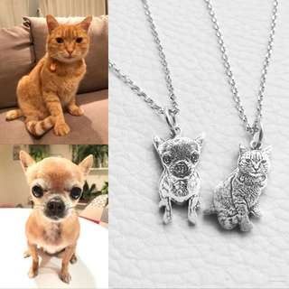 Customise Pet Necklace
