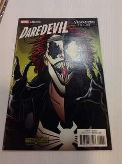 Daredevil 26 Venomized Villains Variant
