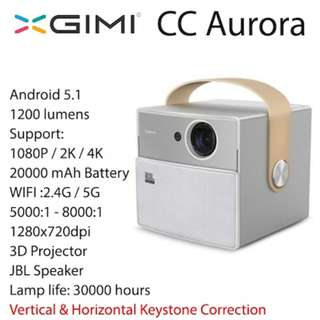 [Xgimi CC Aurora]2017 Best xgimi CC smart home theatre wifi projectors - Export set