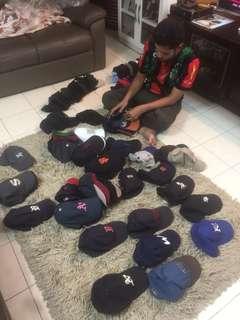 Baseball cap borong bundle