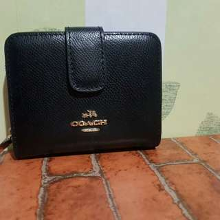 Coach Black Wallet *Repriced