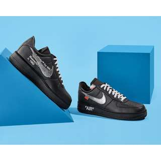 Nike OFF-WHITE x MoMA x Air Force 1 07 'Black' | AV5210-001