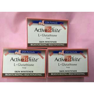 Active White L-Glutathione Soap