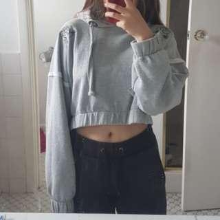 Cropped hoodiel