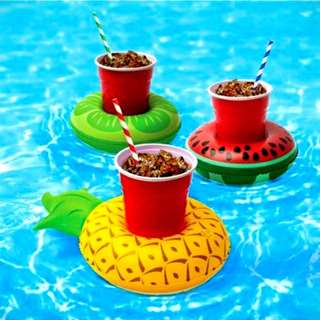 Inflatable Fruit Cup Holder