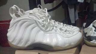 "Nike AirFoamposite ""White Out"""