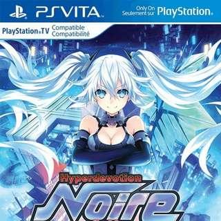 Vita Hyperdevotion Noire: Goddess Black Heart