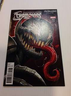 Champions 12 Venomized Villains Variant