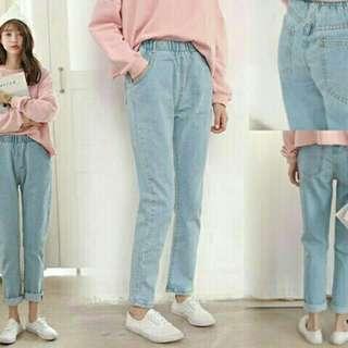 Boyfriend jeans facesmile