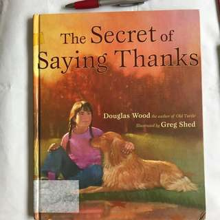 Kids books : The secret of Saying Thanks