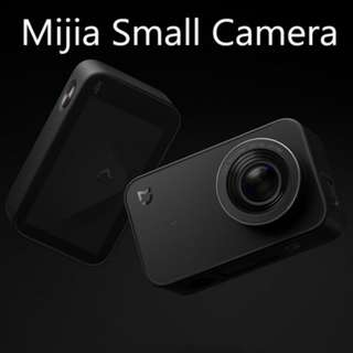 [Mijia Mini 4k Action Camera] F2.8 4K 30fps Bluetooth Wifi 2.4inch Touch Screen