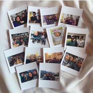 Printed Polaroid Murah Murah!!