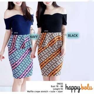 Batik Formal Dress type Mona
