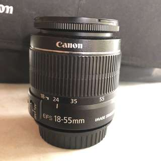 Faulty Canon EFS 18-55mm IS ll