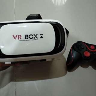 VR Box 2 second + Joystick