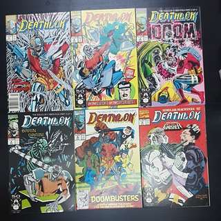 24 Marvel Comics DEATHLOK #1 to 26 (missing issue #23 & 25)