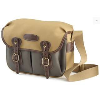 Brand New Billingham Hadley Small with SP40- Khaki with Sage Front & Chocolate Leather