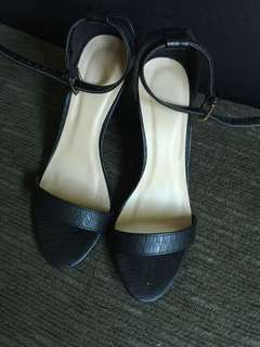 Sophia block heels/ Used twice only