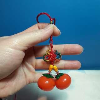 🚚 柿柿(事事)如意吊飾
