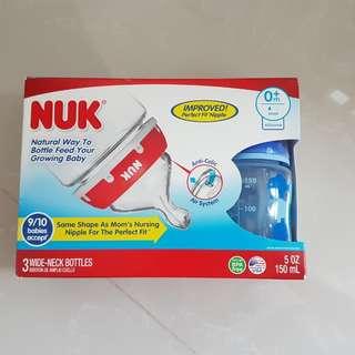 BN Nuk Baby Bottles