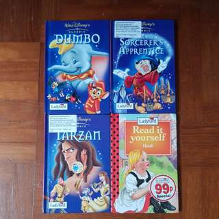 Set of Walt disney classic + heidi ladybird books
