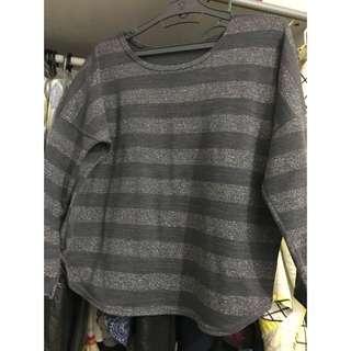 Korean style Glitter sweatshirt