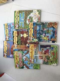 7 Geronimo Stilton books