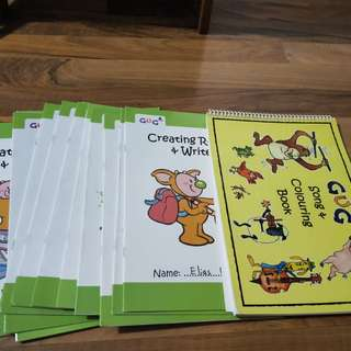 Take all growing up preschool materials